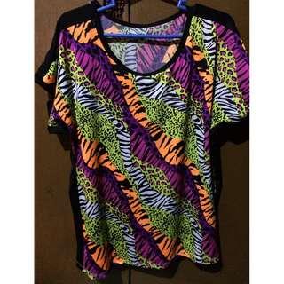 Animal printed shirt