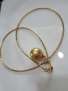 Real south sea pearl pindant