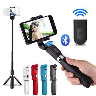 3 in 1 Bluetooth Selfie Stick for IOS / Android
