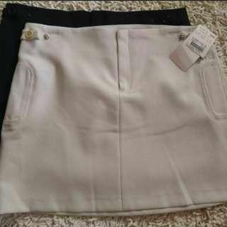 🚚 Mango MNG 短裙 (米白下標區)