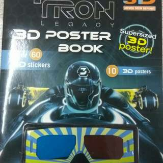 Tron Legacy 3D Poster Book