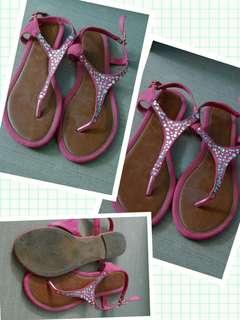 Pink Celine sandal