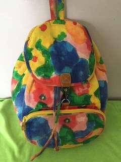 Preloved Colorful Backpack
