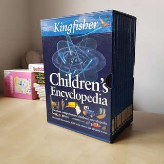 Kingfisher Children's Encyclopedia 1-10 Set