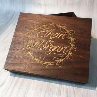 170 x 140 Keepsake Box Gift Box (with engraving)