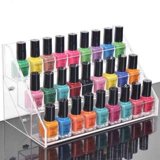 🚚 Acrylic DIY Nail Polish Display Rack