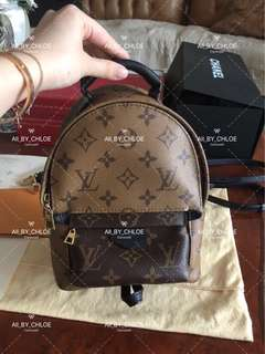LV mini backpack limited edition