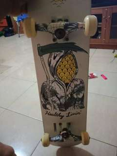Papan skateboard globe