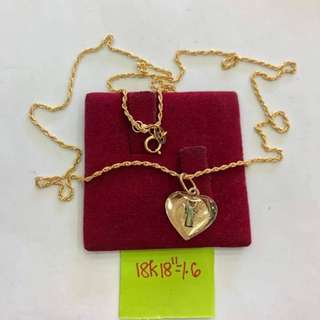 PAWNABLE 18K NECKLACE