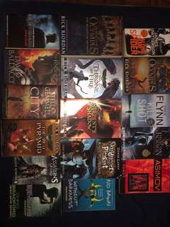Any book $8 Buy 2 get 1 free.