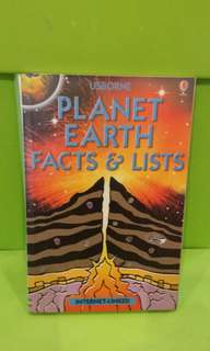 Usborne Planet Earth Facts & Lists