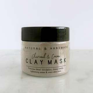 Charcoal + Cocoa Bentonite Clay Mask