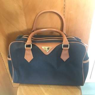 YSL 旅行袋 手提包 Vintage 款式 Boston Bag 非 Gucci Dior