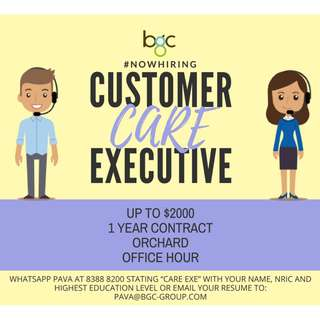 Customer Care Exec Admin//Up $2K - PV