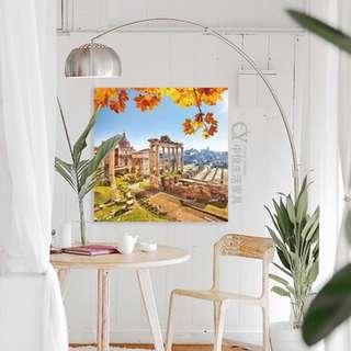 【中悅生活家具】義大利羅馬 遺跡✿PVC/壓克力無框畫✿單幅40/50/60/70/120CM~墻壁畫 掛畫 裝飾畫