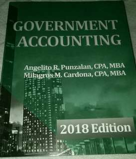 Government Accounting 2018 Edition (original)