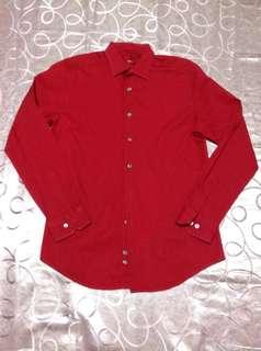 Alfani lonng sleeve polo/formal shirt