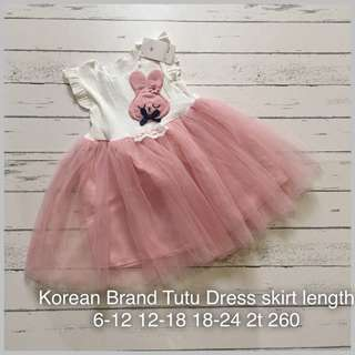 Tutu Dress skirt length