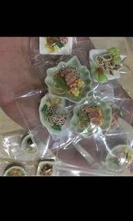 Handmade Miniature :  Mix Local food