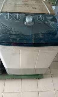 Promo mesin cuci 2 tabung