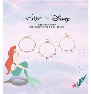 小美人魚 x clue 韓國代購 飾品 聯名 手鍊