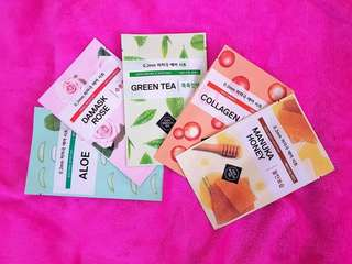 ETUDE HOUSE 0.2mm Therapy Air Mask Set of 5, Bundle 1 P 250 only + Shipping