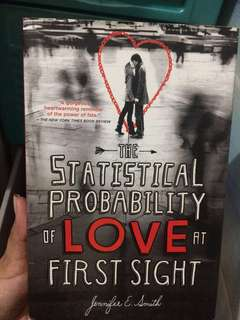 Novel: The Statistical Probability of Love at First Sight by Jennifer E. Smith