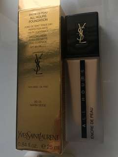 YSL Encre De Peau all hours foundation