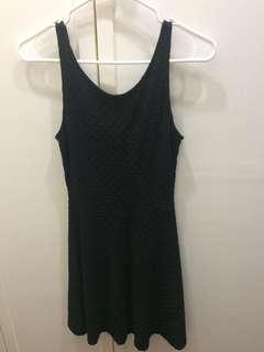 H&M Divided Mini black dress