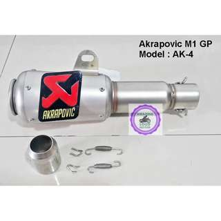 Akrapovic Muffler M1 GP Exhaust Racing Lorenzo Ekzos