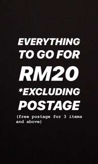 EVERYTHING RM20