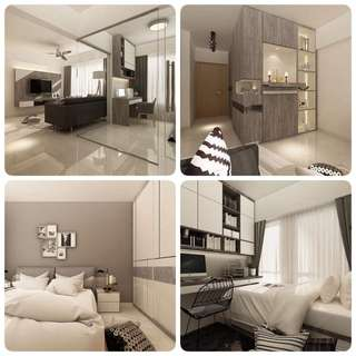 3D Rending Perspective for Interior Residential & Commercial Project