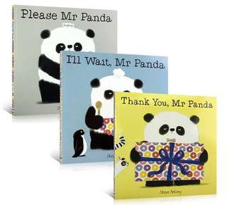 💥NEW-  Best Selling Mr. Panda Steve Antony - Children story books