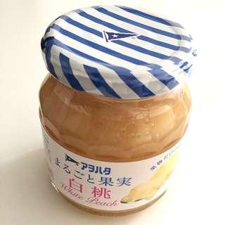 🍑白桃果醬(無添加砂糖)