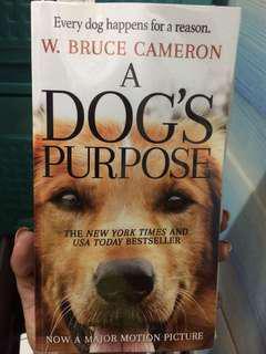 Novel: A Dog's Purpose by Bruce Cameron
