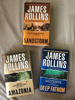 James Rollins Book Bundle