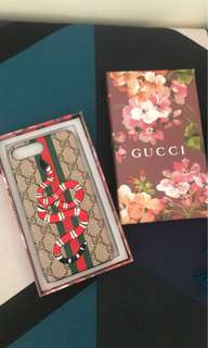 Gucci Embroided Snake 🐍 iPhone 7+ Case with Authentic Gift Box