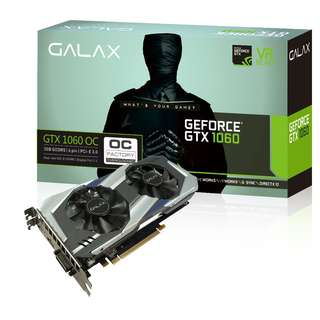 🚚 GALAX GeForce® GTX 1060 OC 3GB (60NNH7DSL9C3)