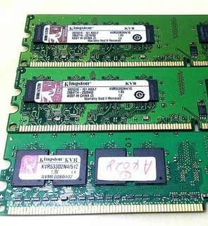 🚚 Cheapest Kingston RAM chips DDR2