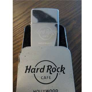 ZIPPO Lighter HARD ROCK edition!