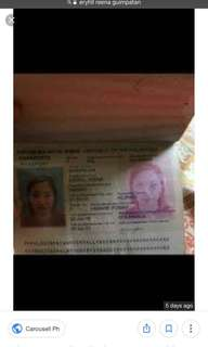 SOMEONE IS USING MY PASSPORT AND ID FOR SCAMMING BEWARE