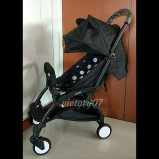BN Lightweight Travel Baby Stroller, Mickey Mouse (Instock)