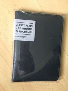 Monopoly passport holder