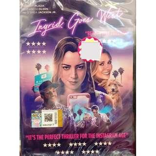 Ingrid Goes West Movie DVD