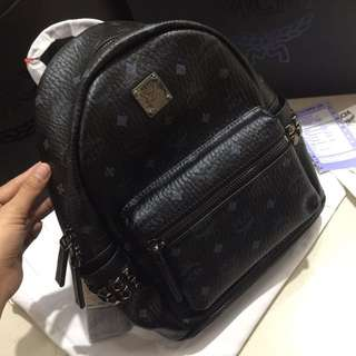 MCM Backpack Bag Black
