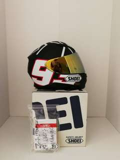 Shoei Z7 Marquez Black Ant (Full Face)