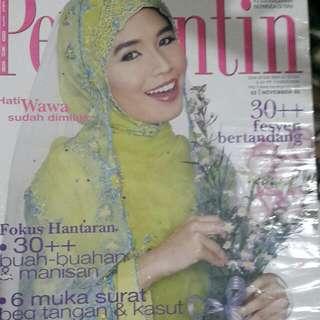 Majalah Pengantin- Wahidda