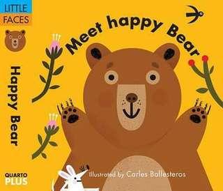 Little faces: Meet happy bear