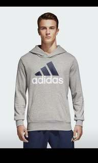 grey Adidas hoodie size small