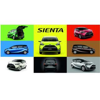 ★ Toyota Sienta Hybrid Steering Paddle Gear Shift ★  ✿ Coming Soon ✿